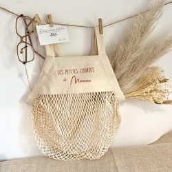 Sac Filet Ivoire en coton bio