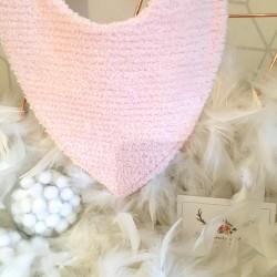 """Pochette à barrettes ou bijoux personnalisable en lin noir et cotonnade Flamands """"roses"""""""